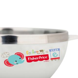 Fisher-Price 费雪 FP-8611C 儿童不锈钢训练碗 蓝色