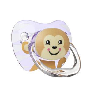 布朗博士(DrBrown's)安抚奶嘴 婴儿安抚奶嘴  美国原装进口卡通安抚奶嘴(6-12个月)熊和猴子图案-女孩