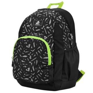 KAMILIANT 卡米龙 SUNNY DAYS系列 BA0*39001 儿童印花双肩包  黑色  27.5*43*23cm