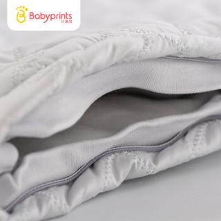 Babyprints恒温婴儿睡袋儿童宝宝防踢被春夏秋冬自动调温新生儿睡袋 雅白色