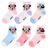 Disney 迪士尼 6610 儿童棉袜 6双装 16-18cm 4-6岁