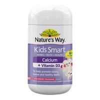Nature's Way 佳思敏 儿童维生素D3加钙胶囊 50粒 *3件