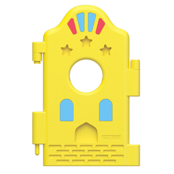 棒棒猪(BabyBBZ)安全围栏 婴儿爬学步栅栏 儿童爬行安全防护栏 围栏单片(黄色)