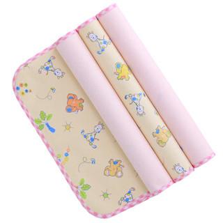 Elepbaby 象宝宝 婴幼儿尿垫 小号 50X37CM 3条装 (粉色)