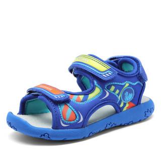 Camkids 82771101 男童防滑沙滩鞋  黑色/火焰红/柠檬黄 28码