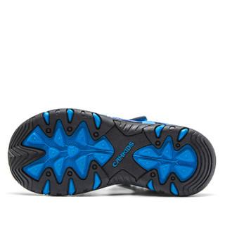Camkids 86771107 男童沙滩凉鞋  海洋蓝/黑色 34码