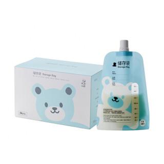 小白熊 (Snow Bear)储奶袋 多功能母乳储存袋 果汁储存袋 保鲜袋 30片装 150ml 09589