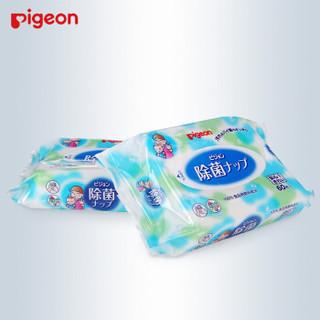 pigeon 贝亲 婴儿除菌消毒湿巾 ( 60枚、2包)
