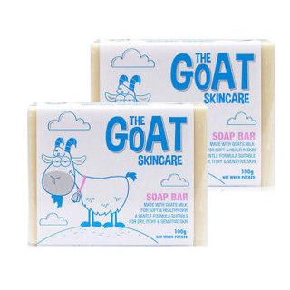 THE GOAT SKINCARE 婴幼儿手工香皂 (原味、100g*2)