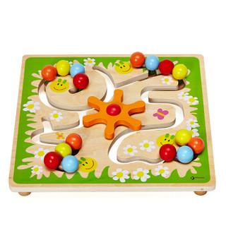 德国可来赛Classic world 儿童早教亲子益智玩具迷宫导航绕珠串珠玩具游戏动手认知玩具 毛毛虫2797