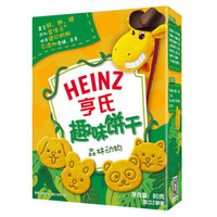 Heinz 亨氏 儿童趣味饼干 (森林动物、80g)