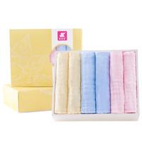 Elepbaby 象宝宝 婴儿口水巾 6层加厚 30X30cm(6条盒装)