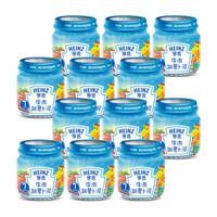 Heinz 亨氏 婴儿蔬菜泥 (牛肉胡萝卜、113g、12瓶)