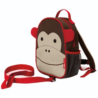 SKIP HOP zoo-let迷你儿童背包(附防走失带)  猴子 1-4岁