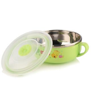 Fisher-Price 费雪 FP-8018 宝宝碗水杯勺子套装 (350+270ML、绿色)