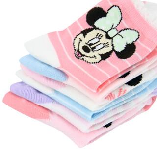 Disney 迪士尼 6357 儿童棉袜 6双装 14-16cm 2-4岁