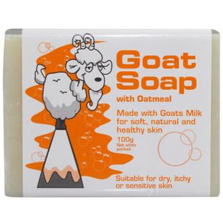 Goat 手工山羊奶皂全套 原味/柠檬/坚果/蜂蜜/椰油/燕麦 (100g、6块)
