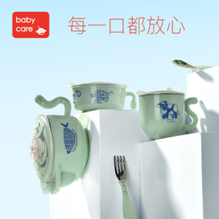 BabyCare 儿童注水保温碗套装 (5件套、希瑟紫)