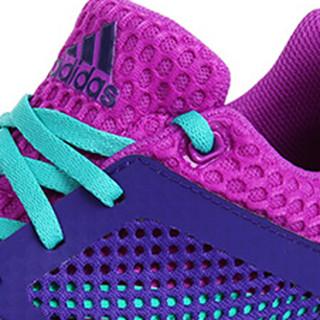 adidas 阿迪达斯 S80383 女童慢跑运动鞋 学院紫色 37码