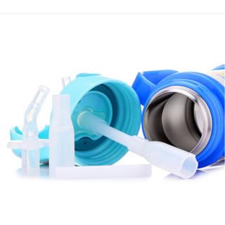 THERMOS 膳魔师 FHI-250DS-BL 宝宝吸管杯 (250ml、蓝色)