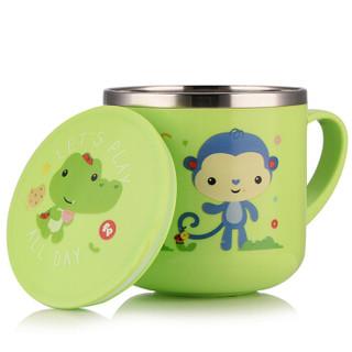 Fisher-Price 费雪 婴儿童保温水杯 (270ML、绿色)