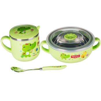 Fisher-Price 费雪 儿童辅食餐具套装 8018D 绿色
