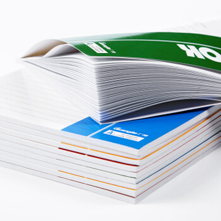 广博(GuangBo)10本装60张A5办公记事本子日记本软抄本颜色随机GBR0791