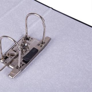 得力(deli)33180 加厚型欧式快劳夹/文件夹 A4 6个特惠装 黑色