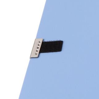 齐心(Comix) 10个装 55mm牢固耐用粘扣档案盒/A4文件盒/资料盒 A1249-10 蓝色 办公用品