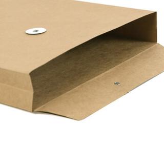 惠朗(huilang)A4加厚牛皮纸档案袋 混浆文件袋资料袋20只0690