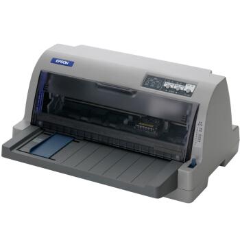 EPSON 爱普生 LQ-730KII 针式打印机 (灰色)