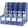 GuangBo 广博 WJK9399 四联文件框 蓝色 单个装