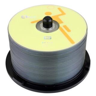 啄木鸟 DVD+R 16速 4.7G 运动系列 橙色 桶装50片 刻录盘
