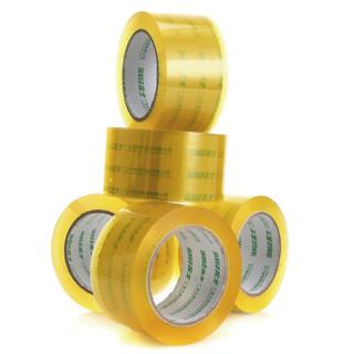 TANGO 探戈 60mm*100y(91.4米/卷) 透明胶带 5卷装