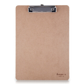 广博(GuangBo)平夹型木质A4书写板夹/文件夹板/办公用品A26116