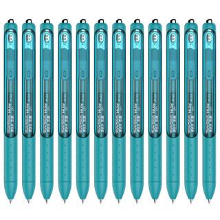 京东PLUS会员 : Paper Mate 缤乐美 P1 意趣速干中性笔 0.5MM 蓝绿 12支装 *5件