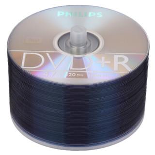 飞利浦(PHILIPS)DVD+R光盘/刻录盘 16速4.7G 手拎乖乖桶 桶装50片