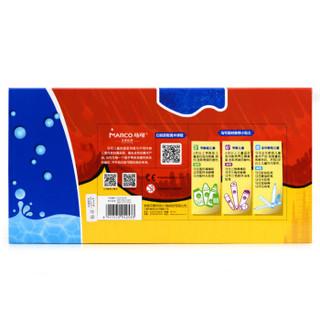 马可(MARCO)1632-36CB 儿童可洗水彩笔 36色 粗杆 纸盒装
