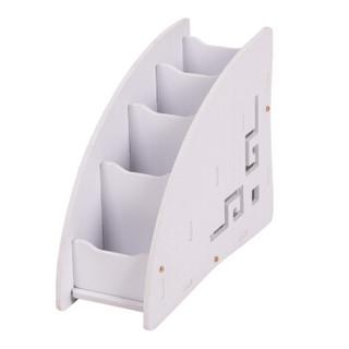 信发(TRNFA)TN-MS233 木塑PVC手机遥控器收纳盒 创意家居收纳 茶几桌面整理 家居用品
