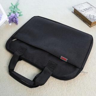 信发(TRNFA)TN-A8-012 帆布多层拉链文件袋手提电脑包 多功能会议公文包档案收纳袋立体培训袋