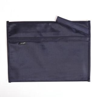 信发(TRNFA) TB-4002 B4双层牛津布袋文件袋公文包 手提袋 拉链资料加厚拉边袋 宣传培训收纳袋 会议包