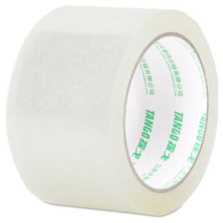 天章办公(TANGO) 探戈高品质透明封箱胶带胶带打包宽胶带60mm*100y(91.4米) 30卷/箱 天章出品
