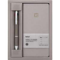 kinbor KMQ25063 手账本套装(周计划本+3色圆珠笔+索引纸) *3件
