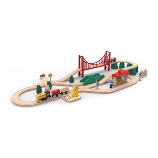 米兔 轨道积木 电动火车套装