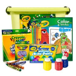Crayola 绘儿乐 JD002 可水洗颜料套装(6件套) *3件