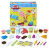 Hasbro 孩之宝 培乐多彩泥黏土创意厨房系列 E0042 冰激凌甜点套装