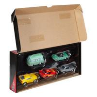 Cars 赛车总动员 电影同款玩具系列 FCP80 合金小车(5辆装) *2件