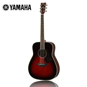 YAMAHA 雅马哈 FG830TBS 木吉他(棕色)
