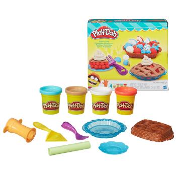 Hasbro 孩之宝 培乐多宝宝DIY黏土创意厨房系列 B3398 创意手工玩具