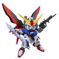 万代(BANDAI)高达GunDam拼插拼装模型玩具SDEX009 Q版命运敢达0207854